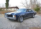 1972 Chevrolet Chevelle SS 396 AUTO PS PDB 1972 CHEVELLE SS 396 AUTO PS PDB TACH BUCKETS CONSOLE BEAUTIFUL MIDNIGHT BLUE