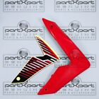 HONDA CRF CRF250 CRF250M -F FRONT RIGHT FAIRING PANEL + DECAL RED 2012 - 2017