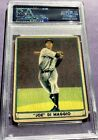 1941 Playball Joe DiMaggio Rp Signed Cut - PSA DNA Certified - YANKEES