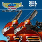 2007 Honda GL1800P Gold Wing Premium Audio VSTREAM SHLD GL1800 CLR QNTM N20012A