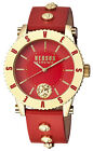 Versus by Versace S31080016 Red Dial Red Leather Strap Women's Watch