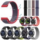 for Samsung Gear S2 S3 Sport Galaxy Watch 46mm Nylon Sport Loop Watch Band Strap