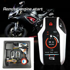 PKE 2 Way Motorcycle Scooter Anti-theft Alarm Remote Engine Start Stop Remote