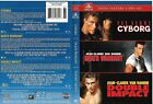 John Claude Van Damme Triple Feature 2012 DVD 3 Disc Cyborg Death Warrant