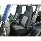 Fabric Front Seat Covers, 76-90 Jeep CJ & Wrangler