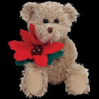 TY Beanie Baby - 2005 Holiday Teddy. TY Inc. Free Shipping