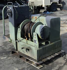 MILITARY M916 A3 TRUCK 45K LB DP HYDRAULIC DRAG DRUM WINCH & TANK 45000LB PULL