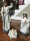 RAZ Imports Large 22 Holy Family Set 3 Beautiful Christmas Nativity