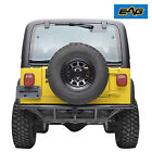 EAG 87 06 Jeep Wrangler YJ TJ Tubular Rear Bumper with Hitch Receiver Offroad