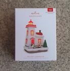 Hallmark 2018 #7 Holiday Lighthouse Magic Cord Ornament