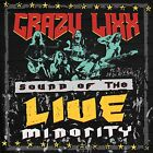 Sound of the Live Minority CRAZY LIXX CD ( FREE SHIPPING)