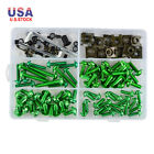 155x Fairing Fastener Bolts Screws Kit For Kawasaki Ninja 250R 300 400 500R 600R