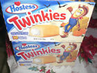 2 Hostess  Twinkies ORIGINAL 10 Count,VERY VERY RARE 2001UN OPENED!