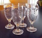 Vintage Libbey Chivalry Glasses Champagne Flutes Wine Whiskey Juice
