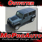 2011 Jeep Wrangler Outfitter Hood 3m Pro Vinyl Graphics Stripes Decals Wr39