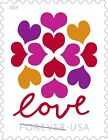 Love Hearts Blossom forever stampssingle