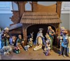 Goebel Hummel Nativity 16 Piece Set 260 Jumbo XL Large 1968 1989 w boxes