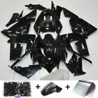 Fairing Kit For KAWASAKI Ninja ZX10R 2004 2005 Glossy Black injection Bodywork