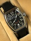 Franck Muller Conquistador Master of Complications 8002SC Steel Watch with Box