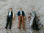 Vintage Star Wars 1977 Han Solo 1980 Han Solo and 1984 Trench Coat Figures