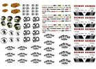 1 64 Scale Waterslide Decals Lot Hot Wheels