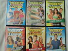 Lot of 6 Biggest Loser Workout Exercise DVDs Weight Loss Yoga Cardio Boot Camp