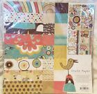 NEW CRATE PAPER Season Collection Scrapbook Kit 12X12 PAPER PACK DieCuts