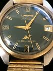 Vintage Longines Automatic Ultra-Chron Gents Watch14k Gold Cap