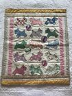 Scottie dog 30's Doll QUILT 21.5 x18  American Girl