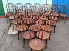 (2) Vintage Bentwood Bistro Chairs.~ Made in Czechoslovakia - 11 pairs available