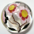 Vintage ORIENT & FLUME Art Glass Paperweight FLORAL 28/250 Full Sig Limited Ed