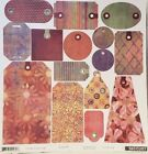 BASIC GREY LOT FUSION Collection Kit Scrapbook Papers + Monograms + Stickers