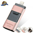 64 128 256 512GB USB Flash Drive Photo Memory Stick Expansion OTG For iPhone