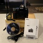 Nikon D700 121MP Digital SLR Camera in excellent condition
