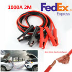 1000 A 2M Auto Car Battery Jump Cable Emergency Power Charging Jumper Start Lead