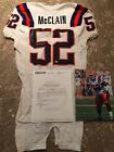 Ravens Giants Jameel McClain Game Used Worn Syracuse Jersey Authentic Steiner