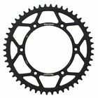 Supersprox Black Rear Steel Sprocket with 50 Teeth for Beta RR 4T 525 2005-2009