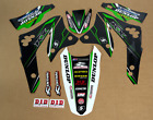 2006 2007 2008 KAWASAKI KXF 450 KX450F GRAPHICS MOTOCROSS SUPERCROSS DECALS