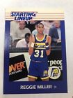 1988 Starting Lineup Reggie Miller Card Pacers.  Near Mint To Mint