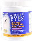 Angels Eyes Natural Tear Stain Remover Soft Chews Chicken Flavor 120 or 240 C