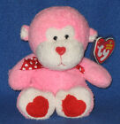 TY JUNGLELOVE the MONKEY BEANIE BABY - MINT with MINT TAGS
