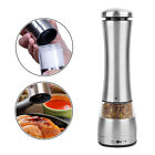 Electric Salt Pepper Mill Stainless Steel Battery Operated Spices Grinder Shaker