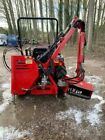 Compact tractor hedge cutter trimmer flail mower for Kubota Iseki NO VAT