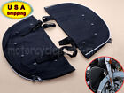 For Harley Davidson Softail FL Lower Soft Chaps Fairing Covers with Pockets USA