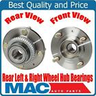 New Rear Wheel Hub Bearings for Mitsubishi Expo with Front Wheel Drive 92 95