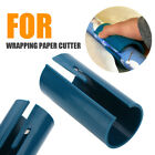 Green Plastic Wrapping Paper Cutter Sliding Gift Wrapping Paper Cutting Tool DIY