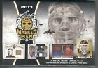 Leaf 2017 Masked Men Sealed Box - 3 Metal Mask plus 3 Premium Goalie Cards