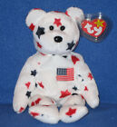 TY GLORY the BEAR BEANIE BABY - MINT with MINT TAGS - PLEASE READ