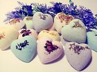 Bath Bombs, Floral Bombs, Bath Fizzies, Gift Set, Natural, Hand Made in the USA,