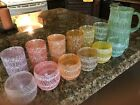12 glassware ( 6 roly poly 6 tumblers) GREAT